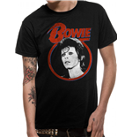 David Bowie - Ziggy Face - Unisex T-shirt Black