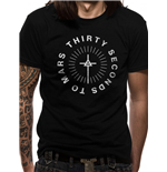 30 Seconds To Mars - Monolith Logo - Unisex T-shirt Black
