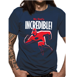 Incredibles 2 - My Dads Incredible - Unisex T-shirt Blue
