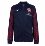 2018-2019 Arsenal Puma Stadium Jacket (Peacot) - Kids