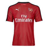 2018-2019 Arsenal Puma Stadium Jersey (Chilli Pepper)