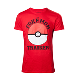 Pokémon - Pokemon Trainer T-Shirt Red