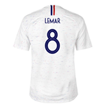 2018-2019 France Away Nike Football Shirt (Lemar 8) - Kids