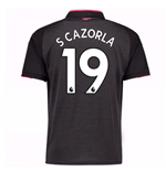 2017-18 Arsenal Third Shirt (S Cazorla 19)