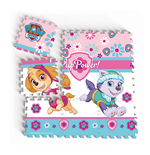 PAW PATROL Skye Floor Mat Puzzle with 9 Pieces