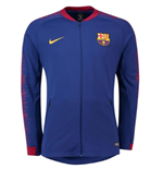 2018-2019 Barcelona Nike Anthem Jacket (Blue)