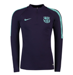 2018-2019 Barcelona Nike Drill Training Top (Purple Dynasty)