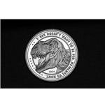 Jurassic Park Collectable Coin 25th Anniversary T-Rex (silver plated)