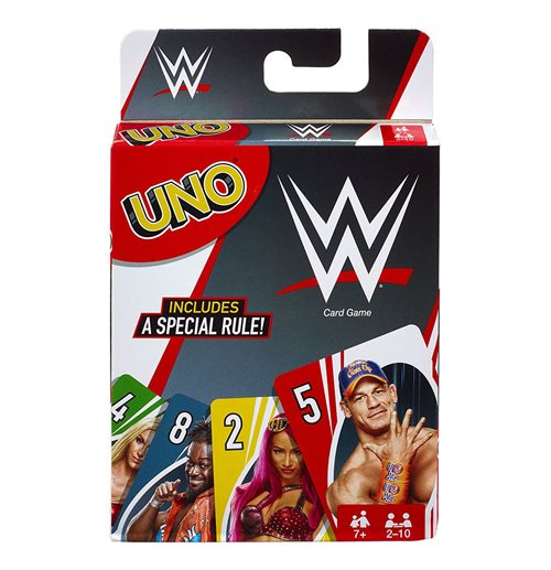 Official Wwe Uno Card Game English Version Buy Online On Offer