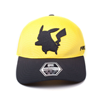 POKEMON Pikachu Silhouette Curved Bill Cap, Yellow/Black