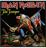 Iron Maiden Standard Patch: The Trooper (Packed)