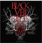 Black Veil Brides Standard Patch: Skull (Packed)