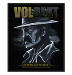 Volbeat Standard Patch: Outlaw Gentlemen (Packed)