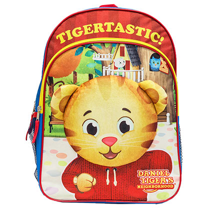 DANIEL TIGER'S NEIGHBORHOOD 16 Inch Youth Backpack