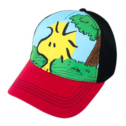 SNOOPY Woodstock Full Color Youth Size Hat