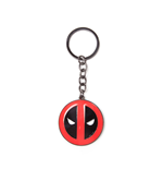 Deadpool Metal Keychain Big Face 7 cm