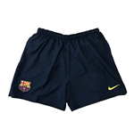 Barcelona Nike Home Football Shorts - Kids