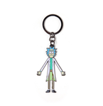 Rick & Morty - Rick With Movable Head Metal Keychain