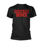 Stiff Little Fingers T-shirt Suspect Device (BLACK)