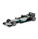 MERCEDES AMG F1 W07 HYBRID NICO ROSBERG WORLD CHAMPION 2016