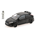 FORD FOCUS RS 500 MATT BLACK TOP GEAR WITH FIGURINE
