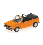 VOLKSWAGEN GOLF I CABRIOLET 1980 ORANGE