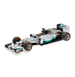 MERCEDES AMG W05 HAMILTON WINNER MALAYSIAN GP WORLD CHAMPION 2014