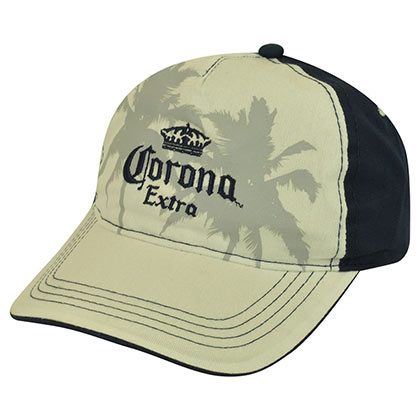 CORONA EXTRA Two Tone Palm Tree Baseball Hat