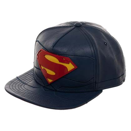 SUPERMAN Rebirth Suit Up Vinyl Men's Hat