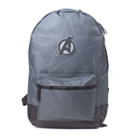 MARVEL COMICS Avengers Infinity War Stitching Backpack, Grey