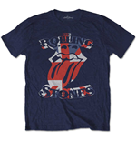 The Rolling Stones Men's Tee: British Flag Tongue