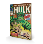 Hulk Print on wood 305457