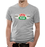 Friends - Central Perk - Unisex T-shirt Grey