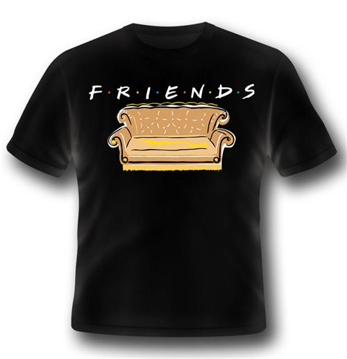 Friends T-shirt Series Logo And Sofa