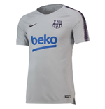 2018-2019 Barcelona Nike Training Shirt (Wolf Grey)