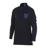 2018-2019 England Nike Strike Vapor Knit Drill Top (Black)