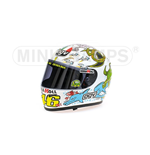 CASCO AGV VALENTINO ROSSI GP VALENCIA 2005 WORLD CHAMPION MOTOGP 2005