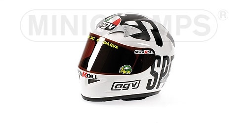 CASCO AGV VALENTINO ROSSI GP PHILLIP ISLAND 2004 WORLD CHAMPION MOTOGP 2004