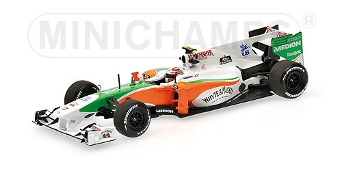 FORCE INDIA F1 MERCEDES VJM03 V. LIUZZI 2010