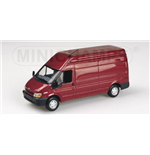 FORD TRANSIT DELIVERY VAN 2000 RED METALLIC
