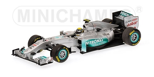 MERCEDES GP NICO ROSBERG SHOWCAR 2011