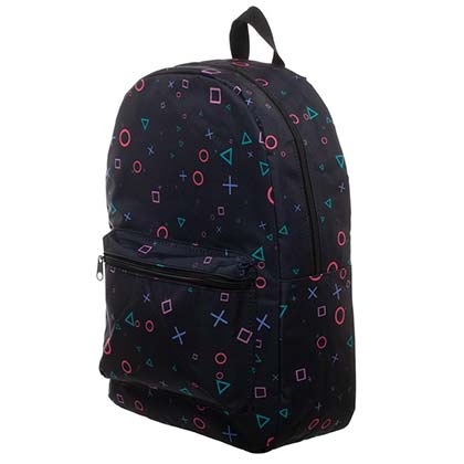 PLAYSTATION All Over Print Black Backpack Bag