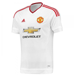 2015-16 Manchester United Adidas Authentic Away Football Shirt