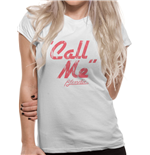Blondie - Call Me - Women Fitted T-shirt White