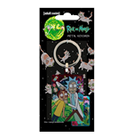 Rick and Morty Metal Keychain Watch 6 cm