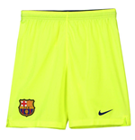 2018-2019 Barcelona Away Nike Football Shorts Volt (Kids)