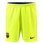 2018-2019 Barcelona Away Nike Football Shorts (Volt)