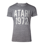 ATARI Male Vintage Atari 1972 T-Shirt, Large, Grey