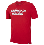 2018-2019 Atletico Madrid Nike Preseason Tee (Red)