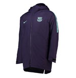 2018-2019 Barcelona Nike Squad Padded Jacket (Purple)